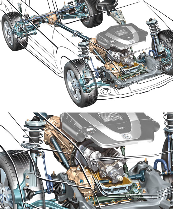 [Essai & Vidéo] Le Mercedes-Benz GLK 320 CDI (X204) 2008- 1863_311