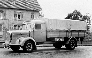[Historique] Les Poids lourds Mercedes  1950_h10