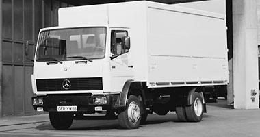 [Historique] Les Poids lourds Mercedes  1984_l10