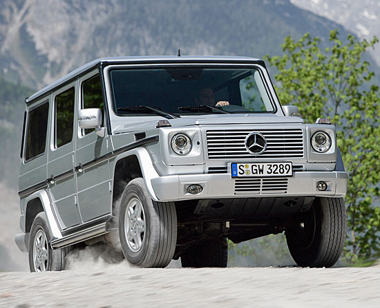 [Essai] Le Mercedes-Benz G 320 CDI 1987_119
