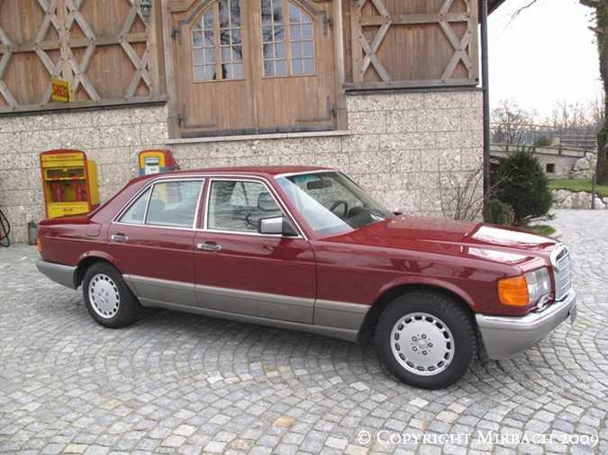 La Mercedes 300 SE (W126)  1_67516