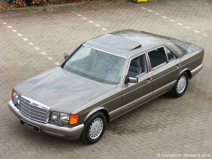 Les Mercedes 500/560 SE/SEL (W126)  1_67517