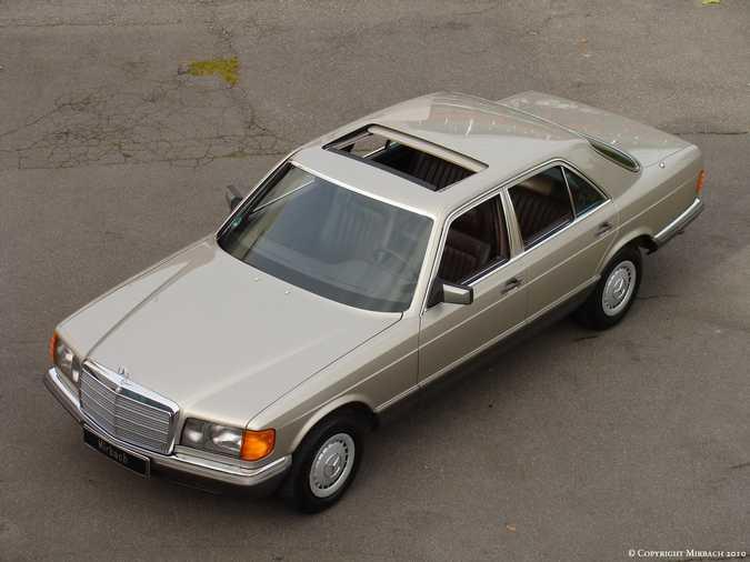 Les Mercedes 500/560 SE/SEL (W126)  1_67518