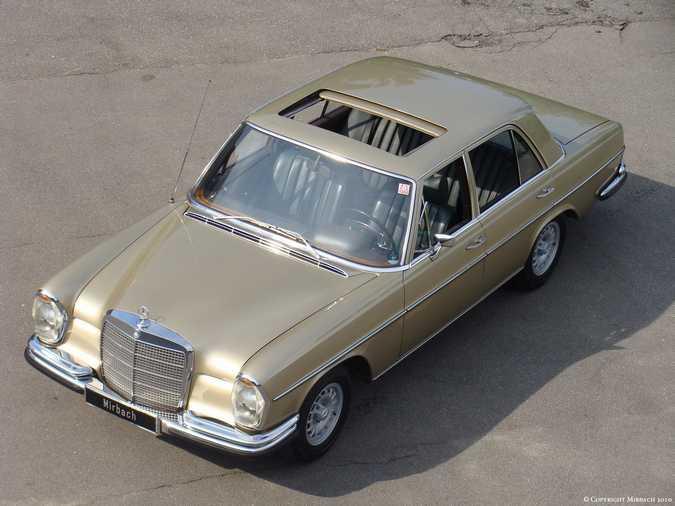 La Mercedes 250 S-SE / 280 S-SE / 300 SE (W108/W109) Berline   1_67522