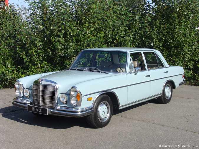 La Mercedes 250 S-SE / 280 S-SE / 300 SE (W108/W109) Berline   1_67523