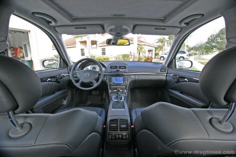 [Essai] La Mercedes E 55 AMG (W211) 2005-m14