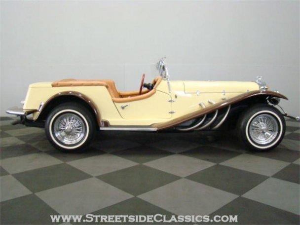 Mercedes SSK 1929. Interprétation très libre... 23169111
