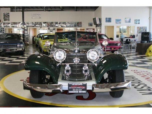Mercedes SSK 1929. Interprétation très libre... 23495910