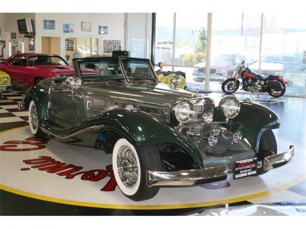 Mercedes SSK 1929. Interprétation très libre... 23495911