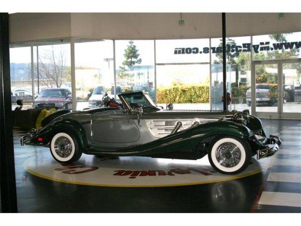 Mercedes SSK 1929. Interprétation très libre... 23495912