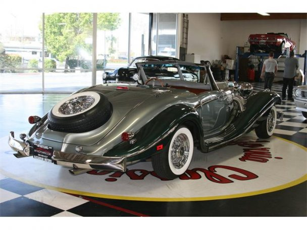 Mercedes SSK 1929. Interprétation très libre... 23496010