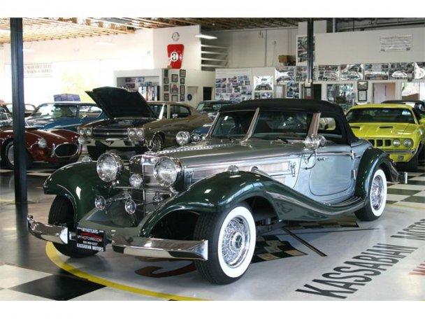 Mercedes SSK 1929. Interprétation très libre... 23496011