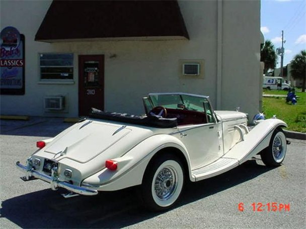 Mercedes SSK 1929. Interprétation très libre... 24263913