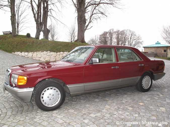 La Mercedes 300 SE (W126)  2_67521
