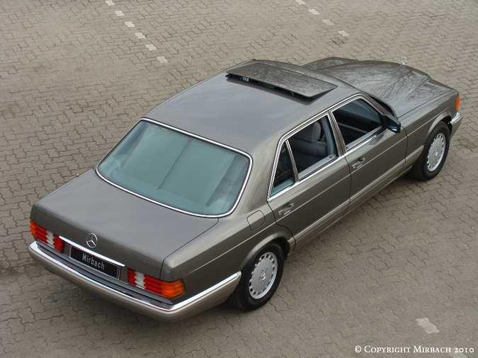 Les Mercedes 500/560 SE/SEL (W126)  2_67522