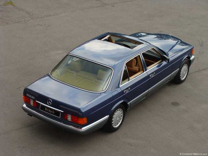 Les Mercedes 500/560 SE/SEL (W126)  2_67523