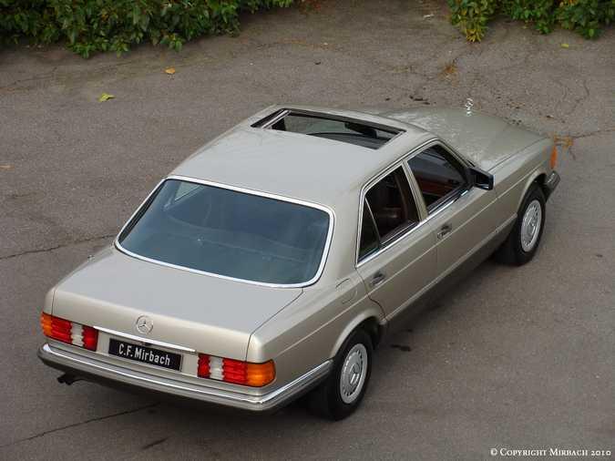 Les Mercedes 500/560 SE/SEL (W126)  2_67524