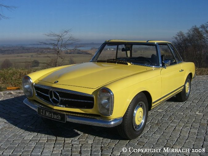 "La ""Pagode"" 280 SL (W113 1967-1971)  2_67525"