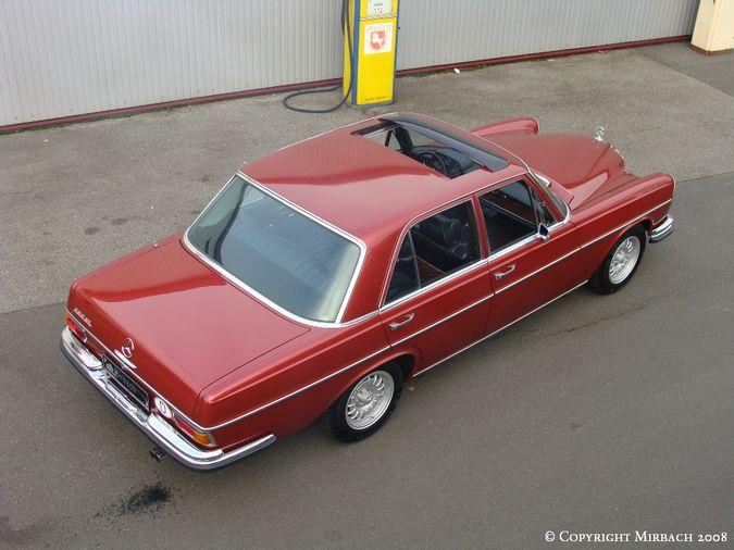 La Mercedes 250 S-SE / 280 S-SE / 300 SE (W108/W109) Berline   2_67531