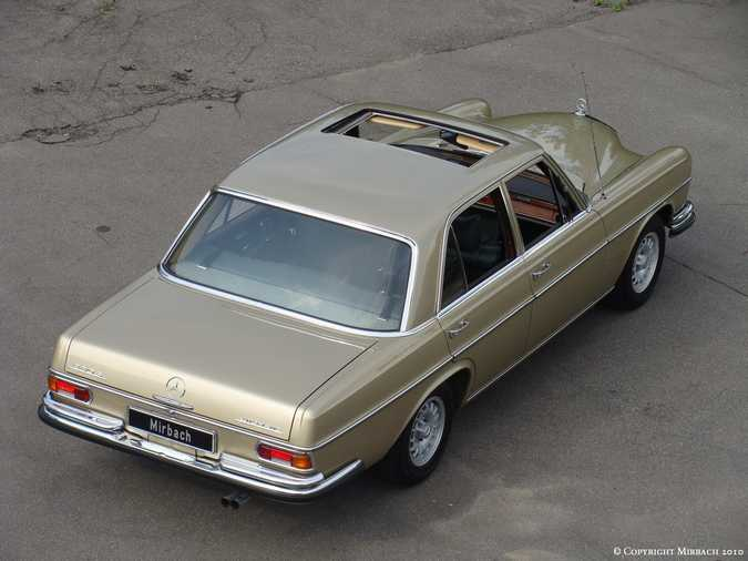 La Mercedes 250 S-SE / 280 S-SE / 300 SE (W108/W109) Berline   2_67532