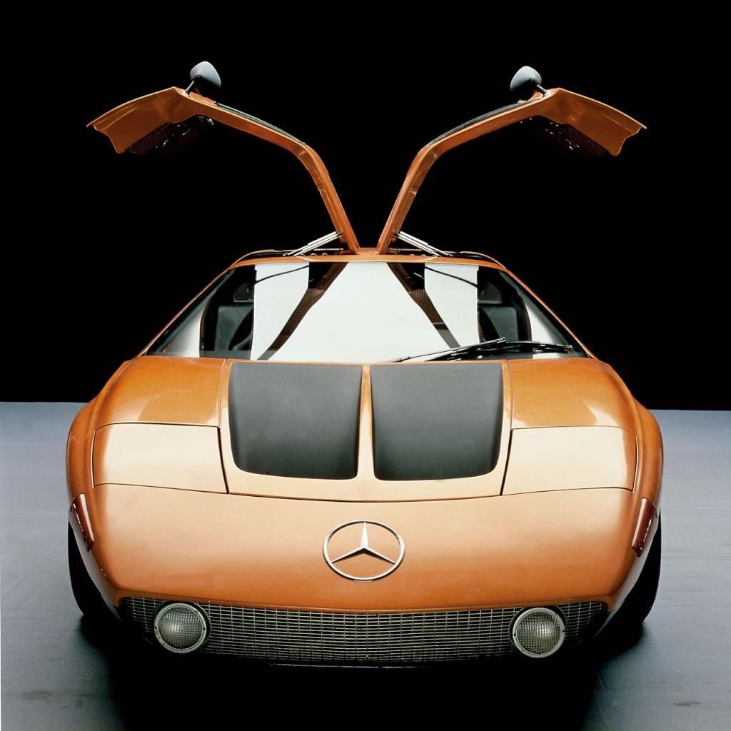 [Historique] Mercedes C 111 (1969-1979) 300sl411