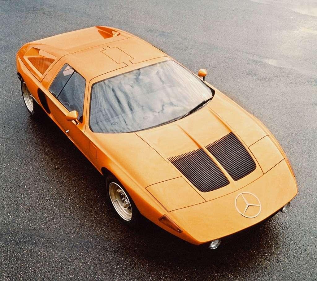 [Historique] Mercedes C 111 (1969-1979) 300sl710