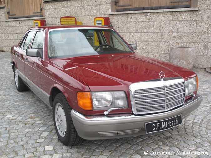 La Mercedes 300 SE (W126)  3_67521