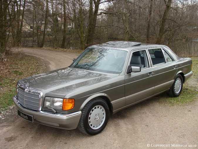 Les Mercedes 500/560 SE/SEL (W126)  3_67522