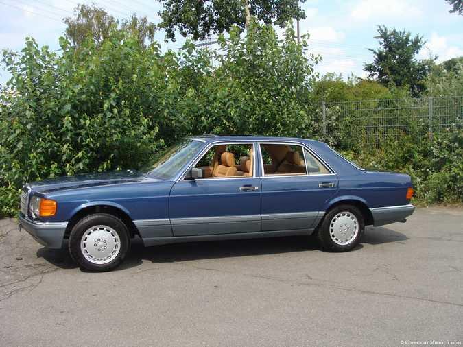 Les Mercedes 500/560 SE/SEL (W126)  3_67523