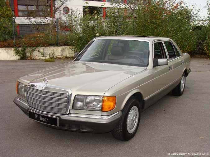 Les Mercedes 500/560 SE/SEL (W126)  3_67524