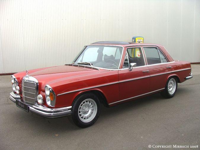 La Mercedes 250 S-SE / 280 S-SE / 300 SE (W108/W109) Berline   3_67531