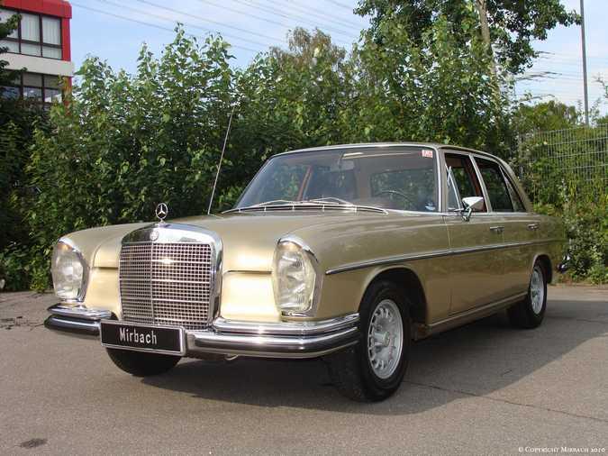 La Mercedes 250 S-SE / 280 S-SE / 300 SE (W108/W109) Berline   3_67532