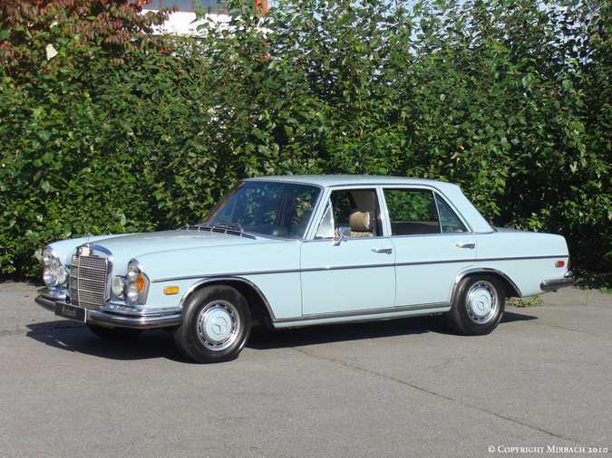 La Mercedes 250 S-SE / 280 S-SE / 300 SE (W108/W109) Berline   3_67533