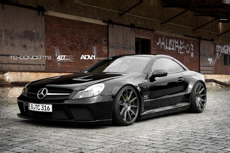 [Photos] Galerie : La Mercedes SL R230 46482010