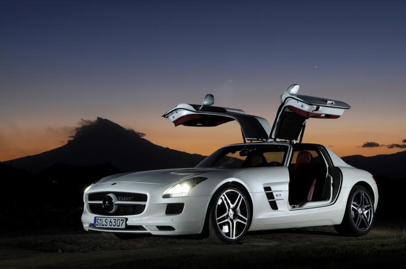 [Photos] Galerie : La Mercedes SLS 47f16410