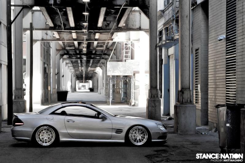 [Photos] Galerie : La Mercedes SL R230 49727610