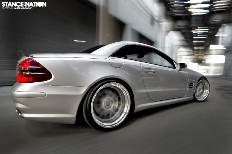 [Photos] Galerie : La Mercedes SL R230 49727612