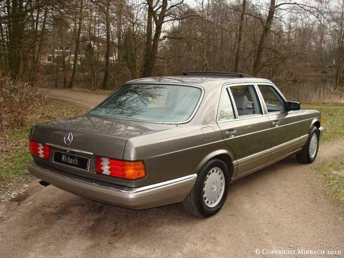 Les Mercedes 500/560 SE/SEL (W126)  4_67522