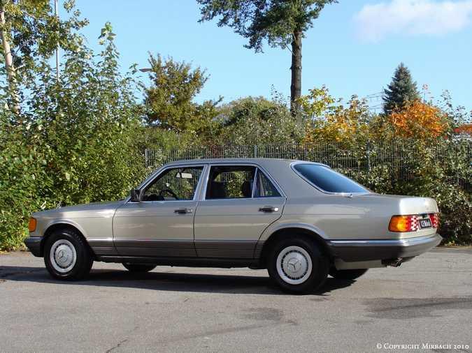 Les Mercedes 500/560 SE/SEL (W126)  4_67524