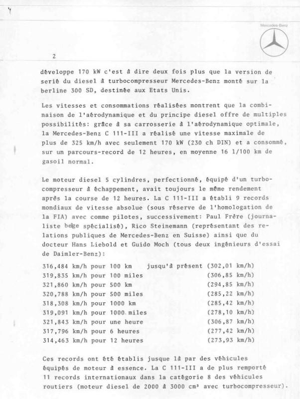[Historique] Mercedes C 111 (1969-1979) 510