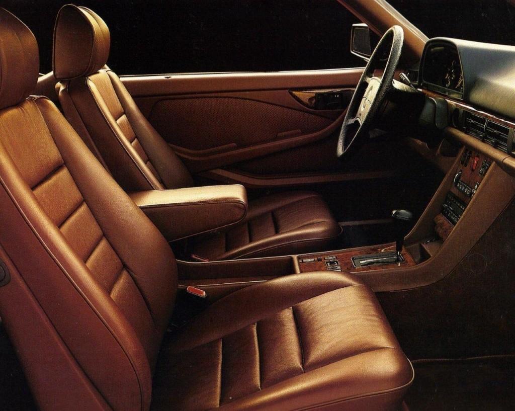 Les interieurs de W126 1980 - 1992 560sec11