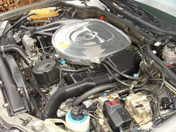 Les Mercedes 500/560 SE/SEL (W126)  5_67522