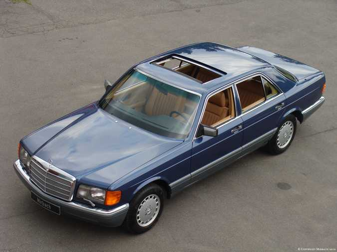 Les Mercedes 500/560 SE/SEL (W126)  5_67523