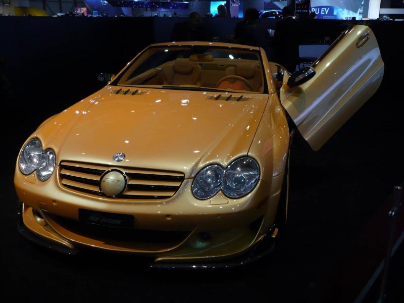 [Photos] Galerie : La Mercedes SL R230 5a1a0110