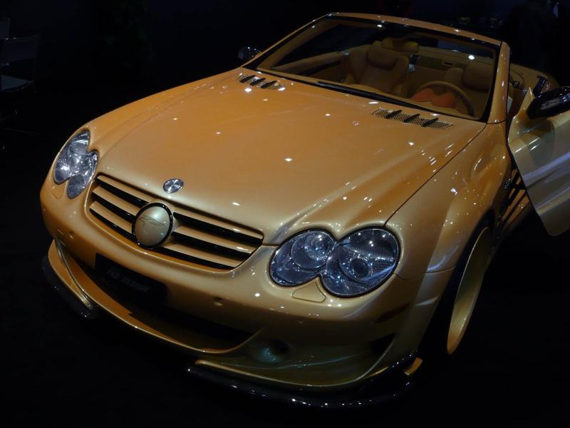 [Photos] Galerie : La Mercedes SL R230 630c5410