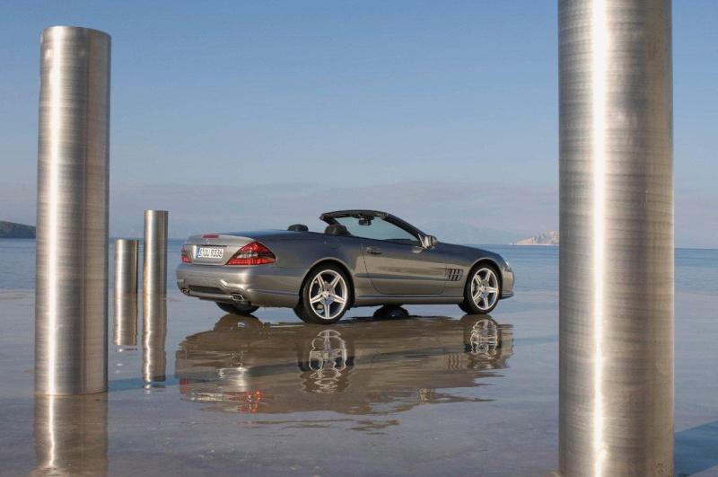 [Photos] Galerie : La Mercedes SL R230 63108710