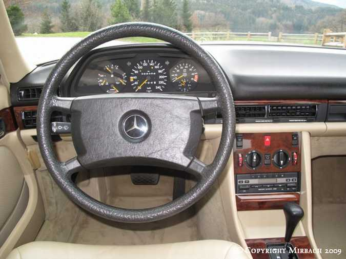 La Mercedes 300 SE (W126)  6_67521
