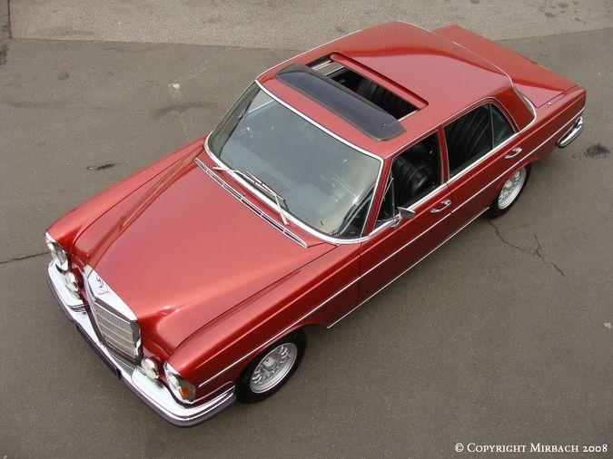 La Mercedes 250 S-SE / 280 S-SE / 300 SE (W108/W109) Berline   6_67530