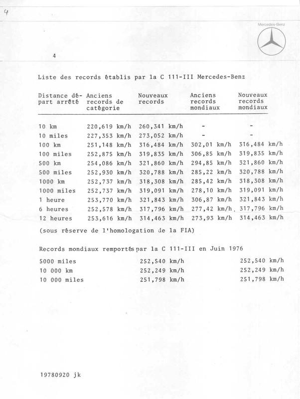 [Historique] Mercedes C 111 (1969-1979) 710