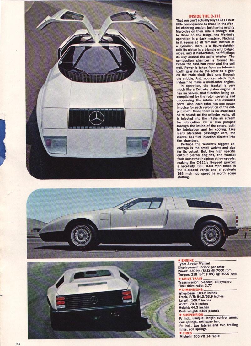 [Historique] Mercedes C 111 (1969-1979) 7331d910